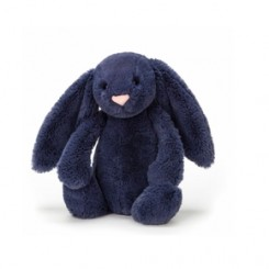 Jellycat kanin small i navy