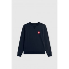 Rod Kids sweat i navy fra Wood Wood